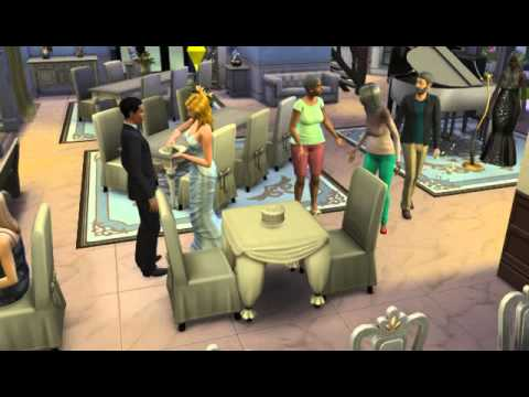 The Sims 4 Cutting The Wedding Cake YouTube - Sims 4 Wedding Cake Cheat
