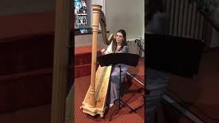 'Tabhair dom do lámh' harp instrumental YouTube Thumbnail