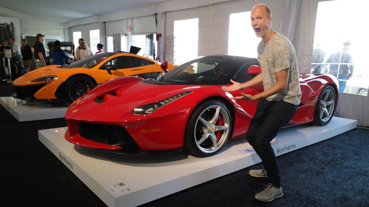 Monterey Car Week Is AMAZING YouTube - Monterey car show