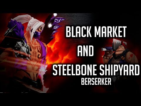 Kritika Online | Black Market and Steelbone Shipyard | BERSERKER