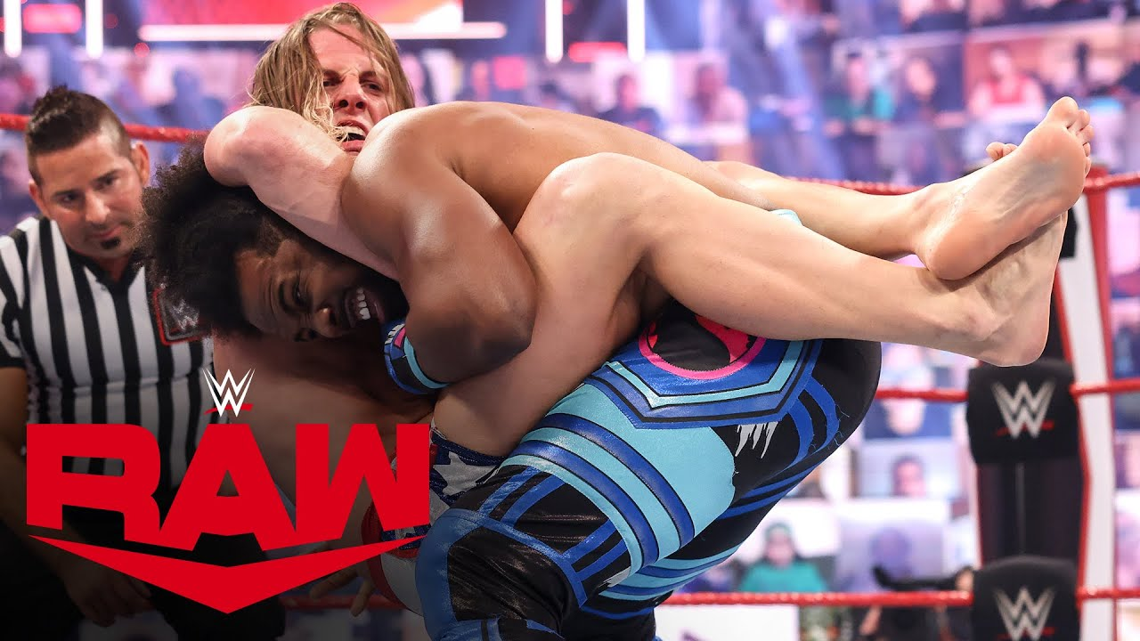 Riddle Uses RKO To Beat Xavier Woods
