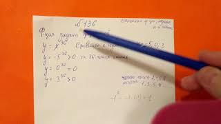 136 Алгебра 9 класс. Степенная Функция