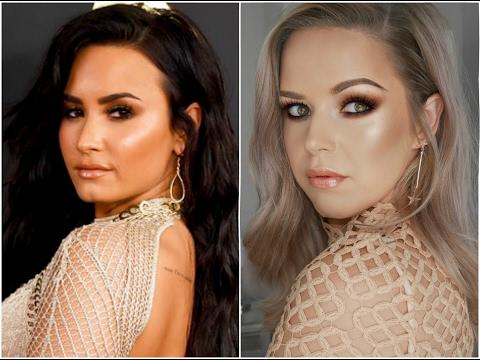 Demi Lovato Grammy's Inspired Look || Cruelty Free + One Brand
