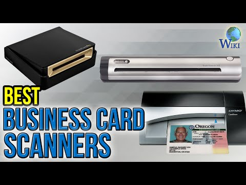 10 Best Business Card Scanners 2017 Youtube