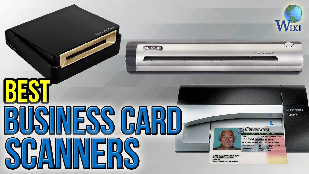 10 best business card scanners 2017 - Best Business Card Scanner