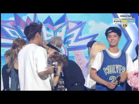 150807 BEAST Win @ Music Bank