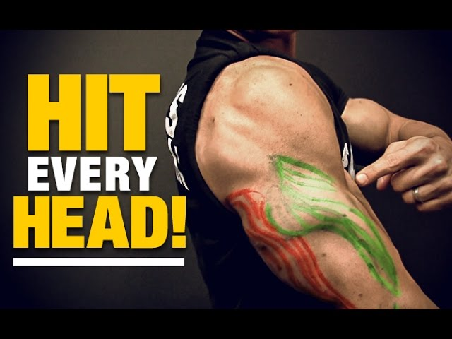 Exercises For Building Bodybuilder Triceps And To Train All Heads