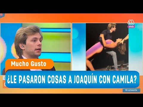 ¿Le pasaron cosas a Joaquín cuando besó a Camila? - Mucho gusto 2018