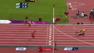 Athletics   Mens 200m   T44 Final   London 2012 Paralympic Games