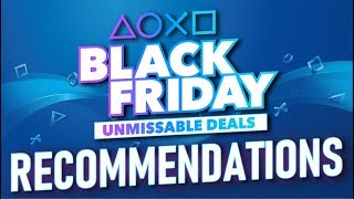 PlayStation Store Black Friday 2019 Deals Recommendations!