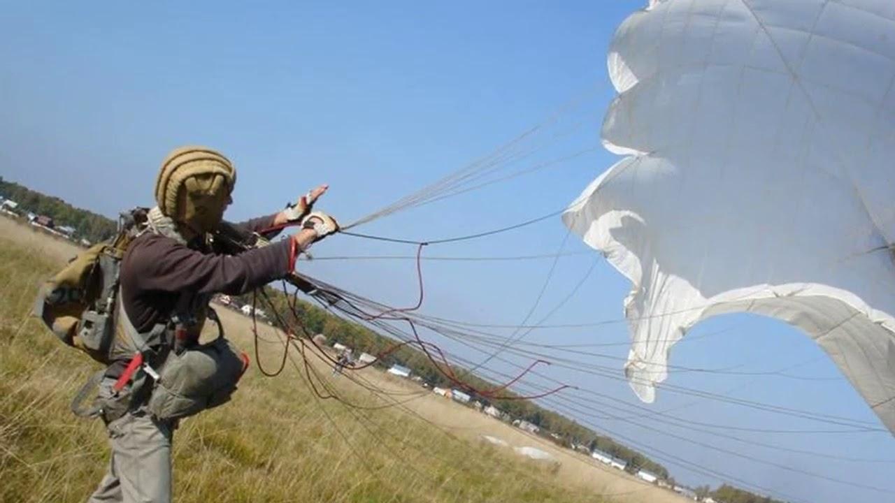 Картинки приземления парашютиста