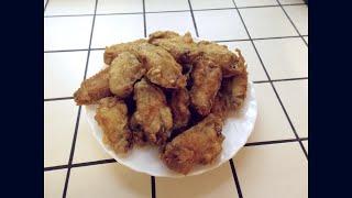 Вкуснейшие куриные крылышки во фритюре