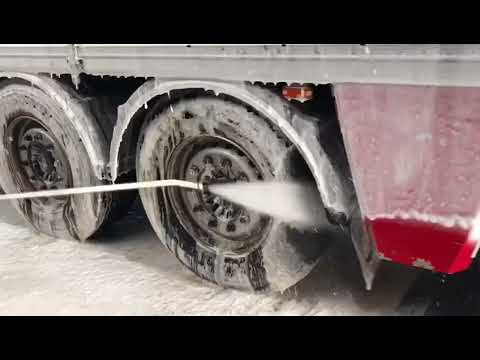 Scania Truck Wash: Real F*ck*ng dirt from Denmark!  Cleaning with the ProNano Method 💯% Non Contact