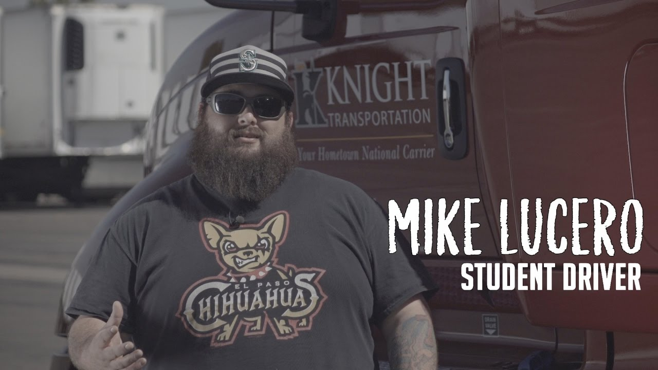 What It Is Like At Knight Transportation Truck Driving School Youtube