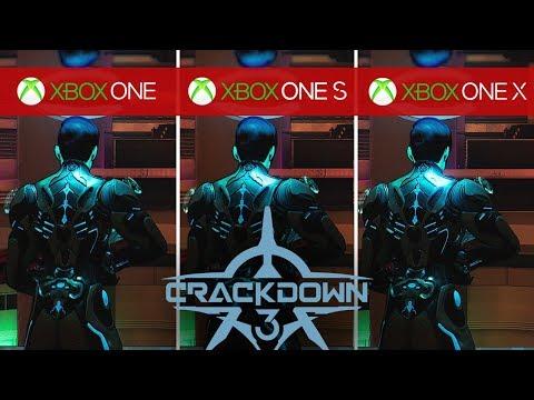 Сравнение Crackdown 3 на Xbox One, Xbox One S и Xbox One X