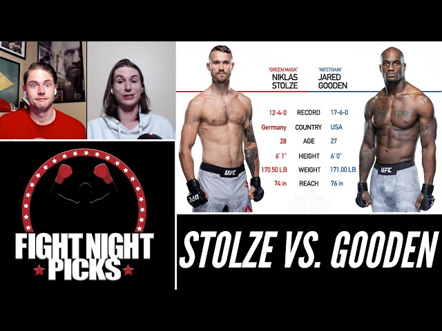 UFC Fight Night: Niklas Stolze vs. Jared Gooden Prediction