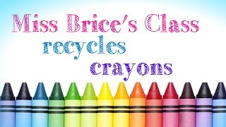 Melting and Recycling Crayons!