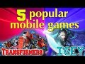 5 most popular mobile games IOS&Android | WHAT TO PLAY