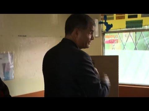 Correa 'very nostalgic' about leaving Ecuador presidency