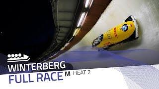 Winterberg | BMW IBSF World Cup 2019/2020 - 4-Man Bobsleigh Race 2 (Heat 2) | IBSF Official
