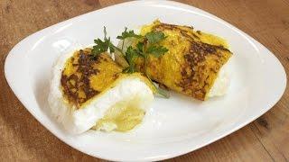 Французский воздушный омлет / How to make Puffy omelet ♡ English subtitles