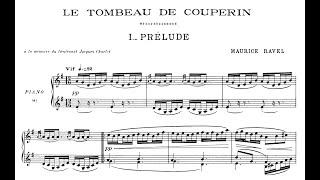 Ravel: Le Tombeau de Couperin (Milstein, Lortie)