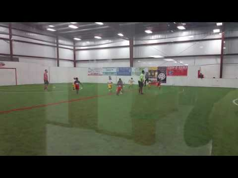 NFL FLAG FOOTBALL. Atlanta Falcons 1st grade. Score indoor sports Fairburn, GA