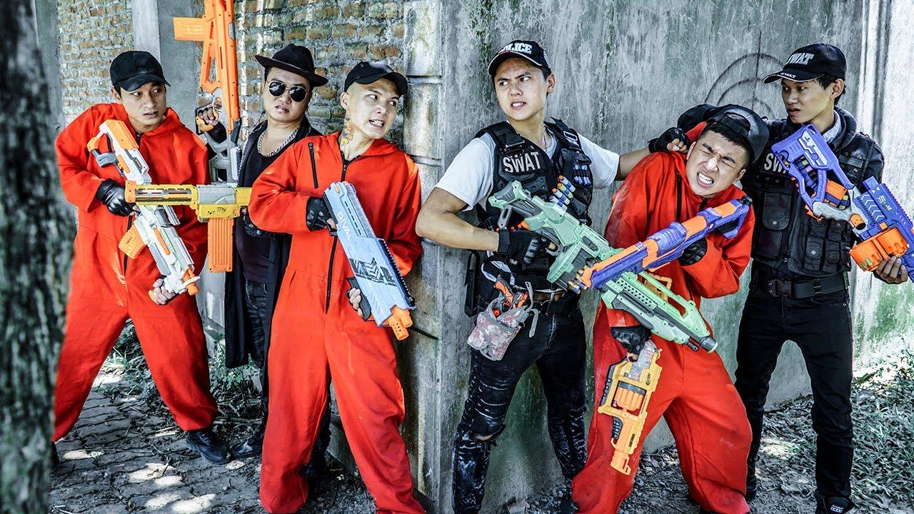 LTT Nerf War : TWO SEAL X Warriors Nerf Guns Fight Dr Ken Crazy Super Solo Soldier