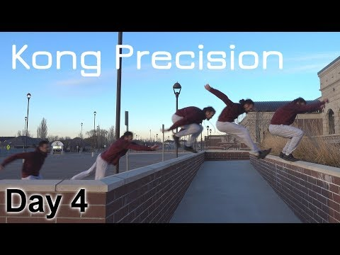 Parkour With Noelani Tsunami | 30 Day Parkour Challenge: Day 4