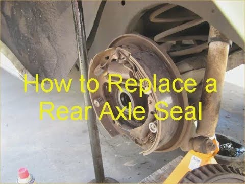 How to Replace Real Axel Seal  – Chevy C Clip