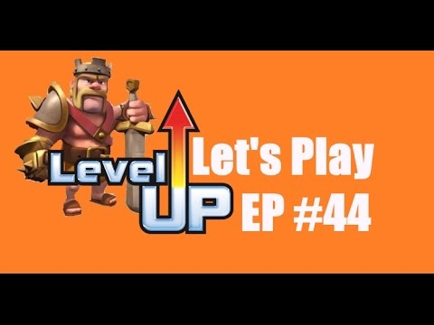 Clash Of Clans Th7 Barbarian King To LEVEL 4 - Let's Play Episode 44