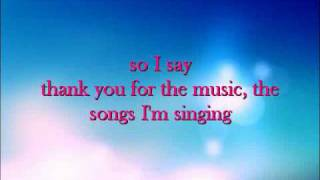 Thank You For the Music - Amanda Seyfried Inst.wmv