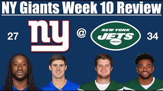 NY Giants Week 10 Review (Welcome to Rock-Bottom)