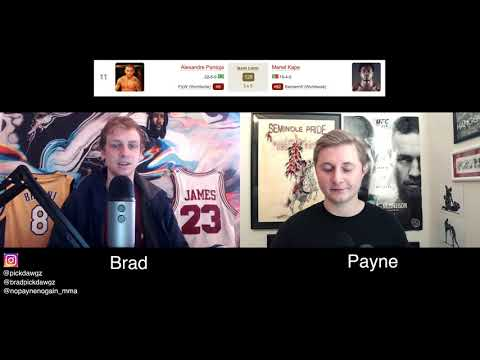Alexandre Pantoja vs Manel Kape MMA Picks, Odds and Predictions, UFC Vegas 18