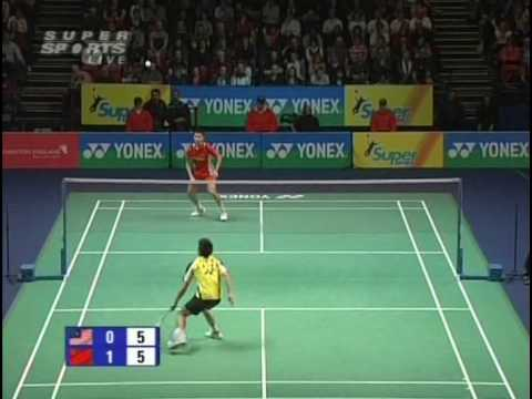 Lin Dan vs Lee Chong Wei AE 09 MS Final (4/5)