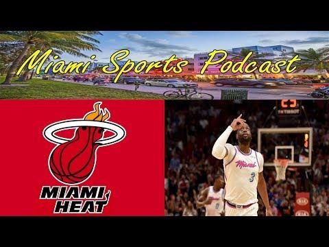 Miami Sports Podcast ep 13: Miami Heat Edition