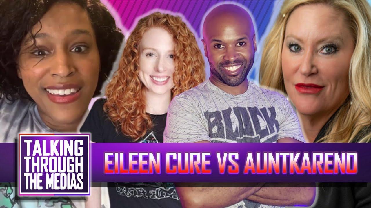 Eileen Cure's Husband Threatens TikTok Activist AuntKaren0 - Ep #203