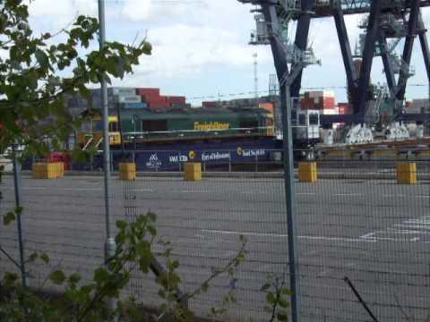 Felixstowe North Locomotive Traverser 1