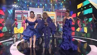 Milly Quezada, Fefita & Maridalia en Premios Soberano 2018