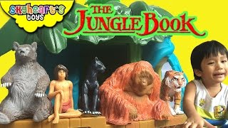 The JUNGLE BOOK Toys (From the new 2016 movie) - Mowgli, Baloo, Bagheera, King Louie and Shere khan thumbnail
