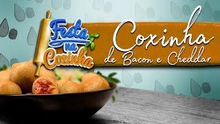 Coxinha de Bacon com Cheddar   Receita de Máquina   FESTA NA COZINHA MCI #11