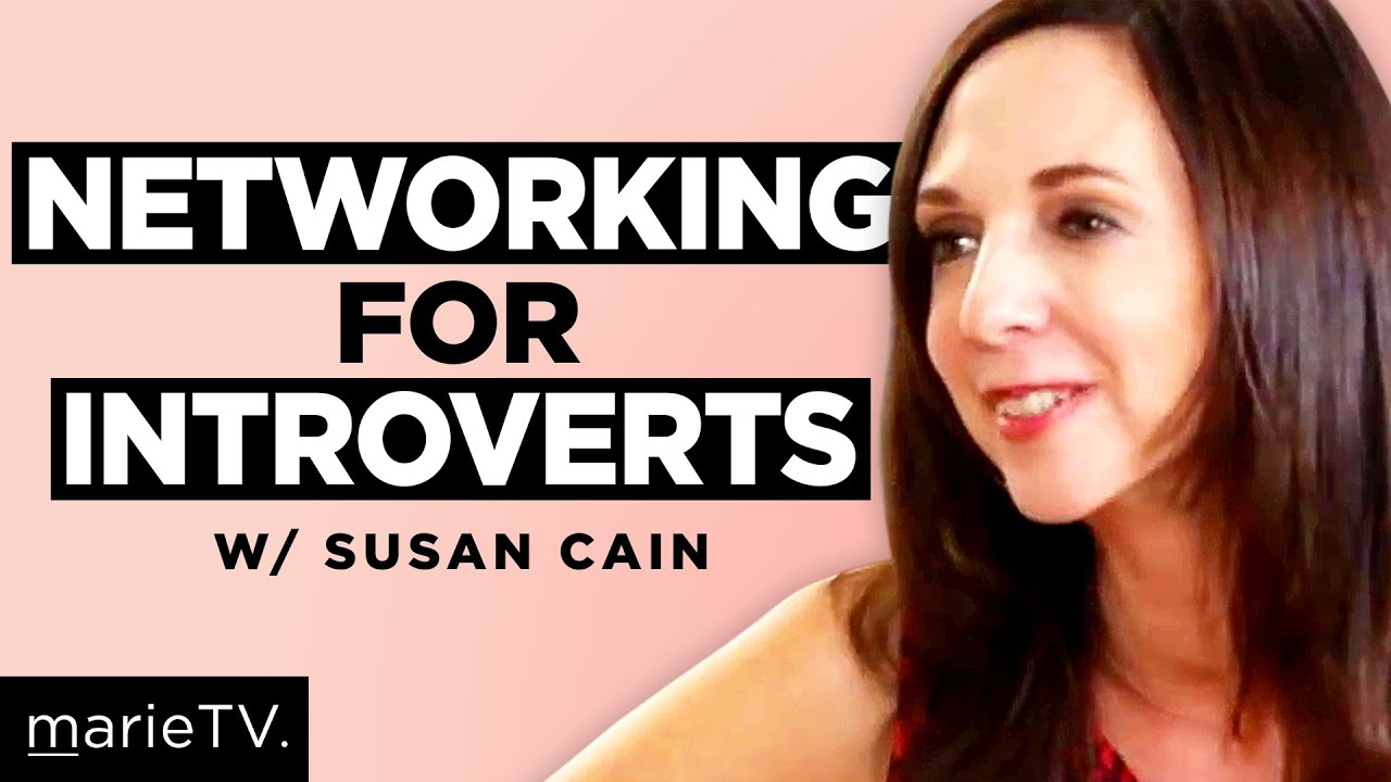 Susan Cain  Networking For Introverts   YouTube