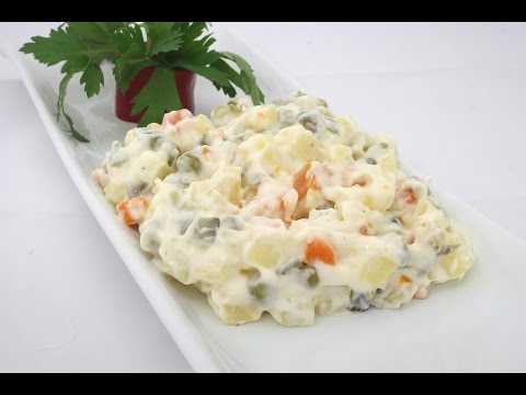 Rus Salatası Tarifi - YouTube