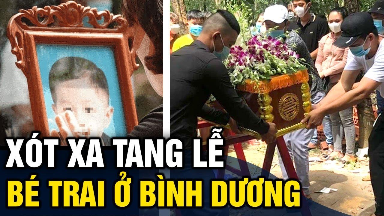 Xót xa 'TANG LỄ' bé trai 2 tuổi ở Bình Dương, người thân KHÓC NGHẸN không nói nên lời