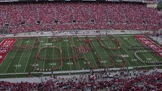 The Ohio State Marching Band Sept. 12 halftime show: Ohio Thru History