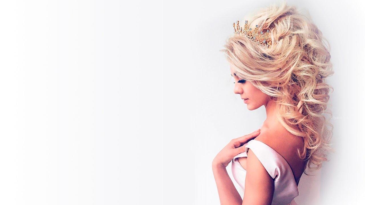 Amazing beautiful bridal hairstyles Ulyana Aster - YouTube