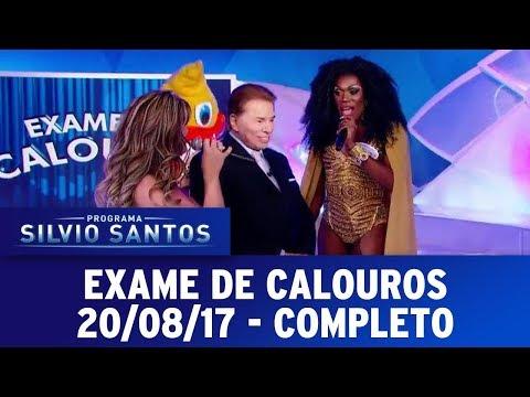 Exame de Calouros | Programa Silvio Santos (20/08/17)