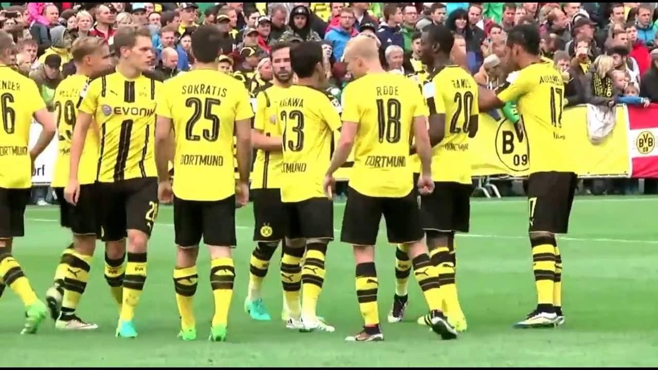 Testspiel St Pauli Dortmund