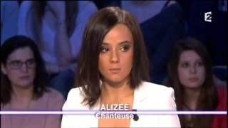 Alizée On n'est pas couché 23 mars 2013 #ONPC