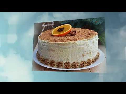 Шесть вкусных тортов. Вкусняшка котороя подойдет к любому празничному столу. Вкусный рецепт.